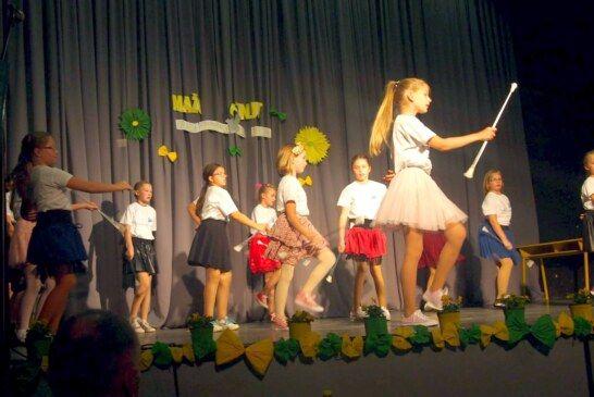 Bjelovarske mažoretkinje nastupile u Grubišnom Polju