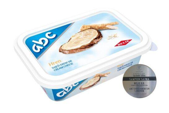 Novo priznanje za Belje – ABC sir s hrenom postao ??ampion sajma sira