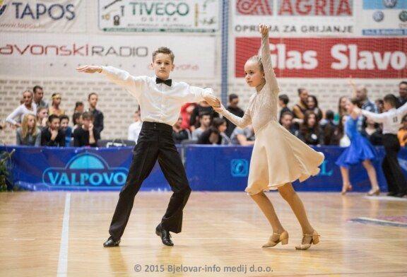 Bjelovarski plesni par David i Leona sudjelovali na državnom prvenstvu