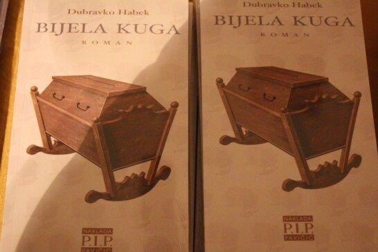 Predstavljen roman Bijela kuga autora Dubravka Habeka