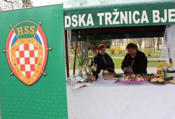 HSS upriličio tradicionalni prikaz bilogorskog sela Uskrsno jutro