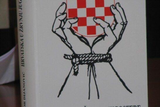 Predstavljena knjiga  ''Hrvatska u žrvnju jugosfere'' mladog bjelovarskog autora Davora Dijanovića