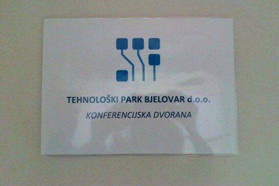 Studentski zbor približio Tehnološki park Bjelovar studentima Visoke tehničke škole u Bjelovaru