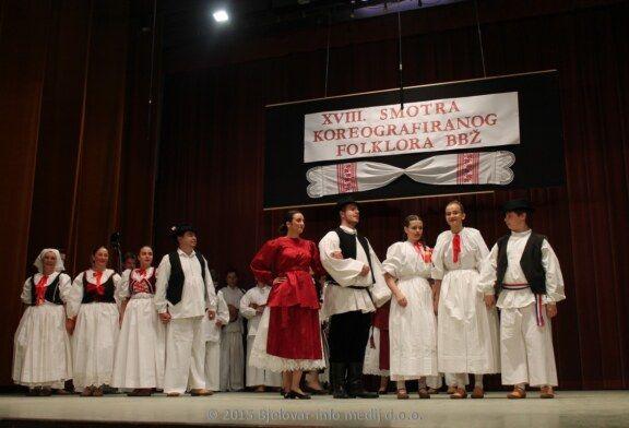Održana 18. Županijska smotra koreografiranog folklora u Garešnici