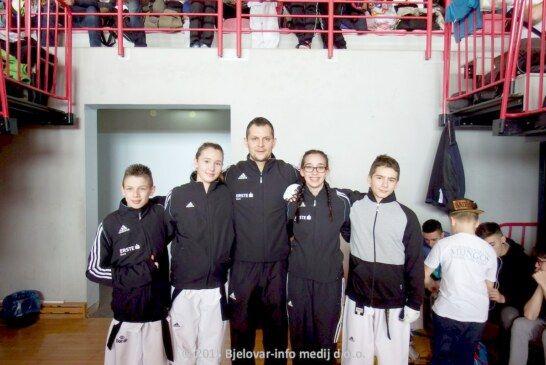 Veliki uspjesi za bjelovarske foksiće na Međunarodnom turniru u Vrbovcu