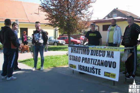 Vratimo djeci Partizanovo igralište – Akcija prikupljanja potpisa Živog zida