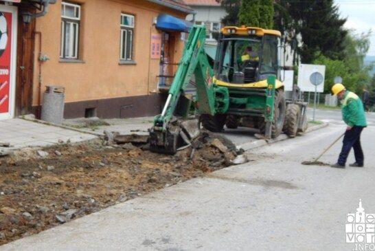 U Čazmi je počela rekonstrukcija Ulice braće Radić