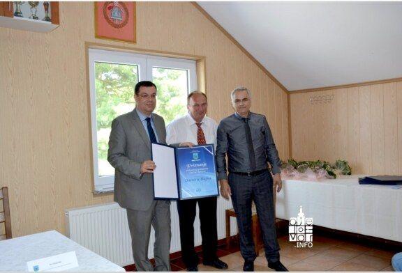 Župan Damir Bajs primio priznanje počasnog građanina Općine Severin