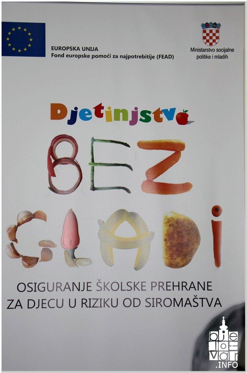Grad Bjelovar – Osigurani školski obroci za 496 djece