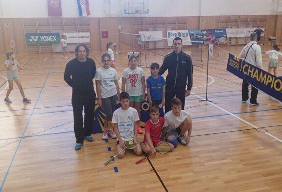 Polaznici Badminton kluba Bjelovar nastupili u Dubrovniku