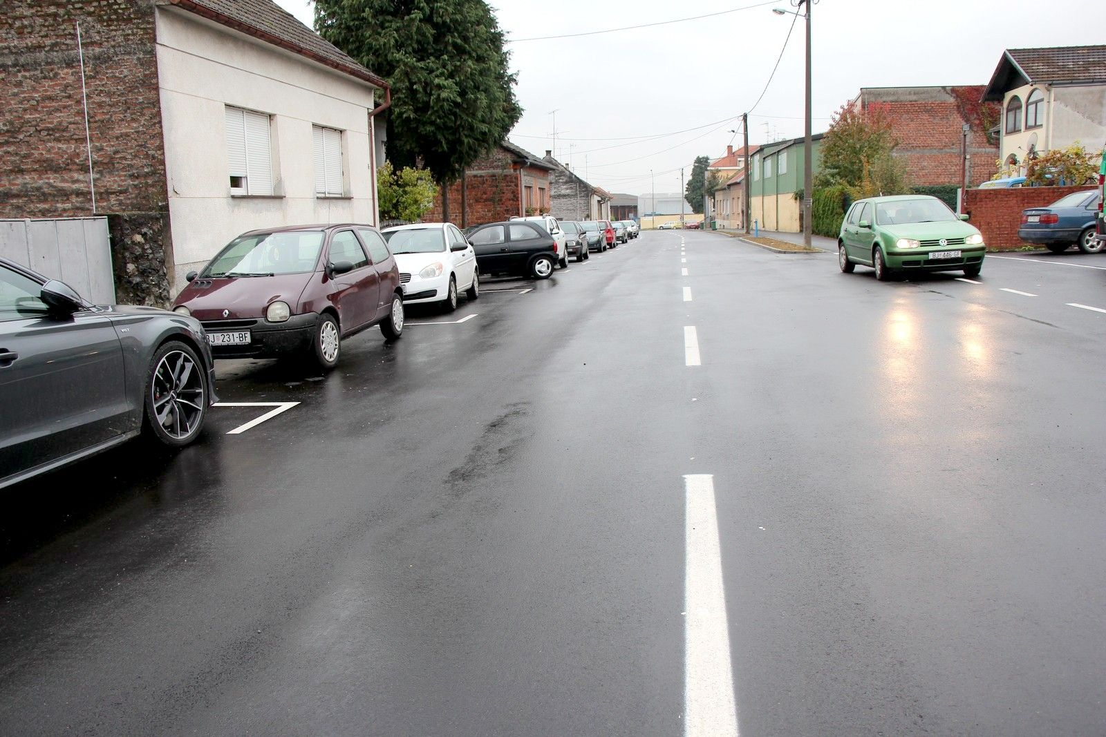Obnovljena Ulica braće Diviš u Bjelovaru