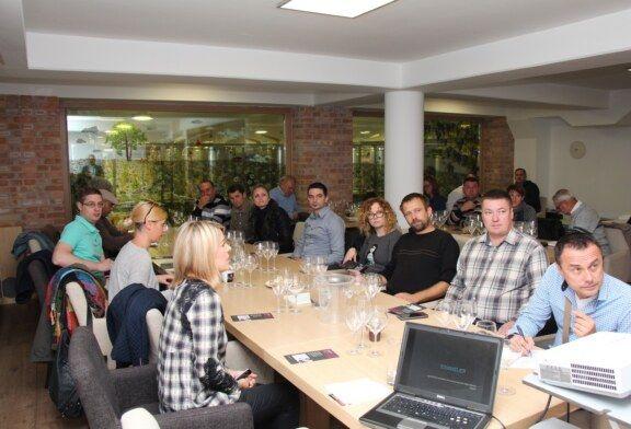 Održana edukativna radionica – Podizanje kvalitete usluživanje vina