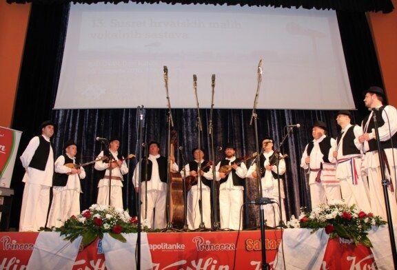 Bjelovarsko-bilogorska županija bila je domaćin 13. Susreta hrvatskih malih vokalnih sastava