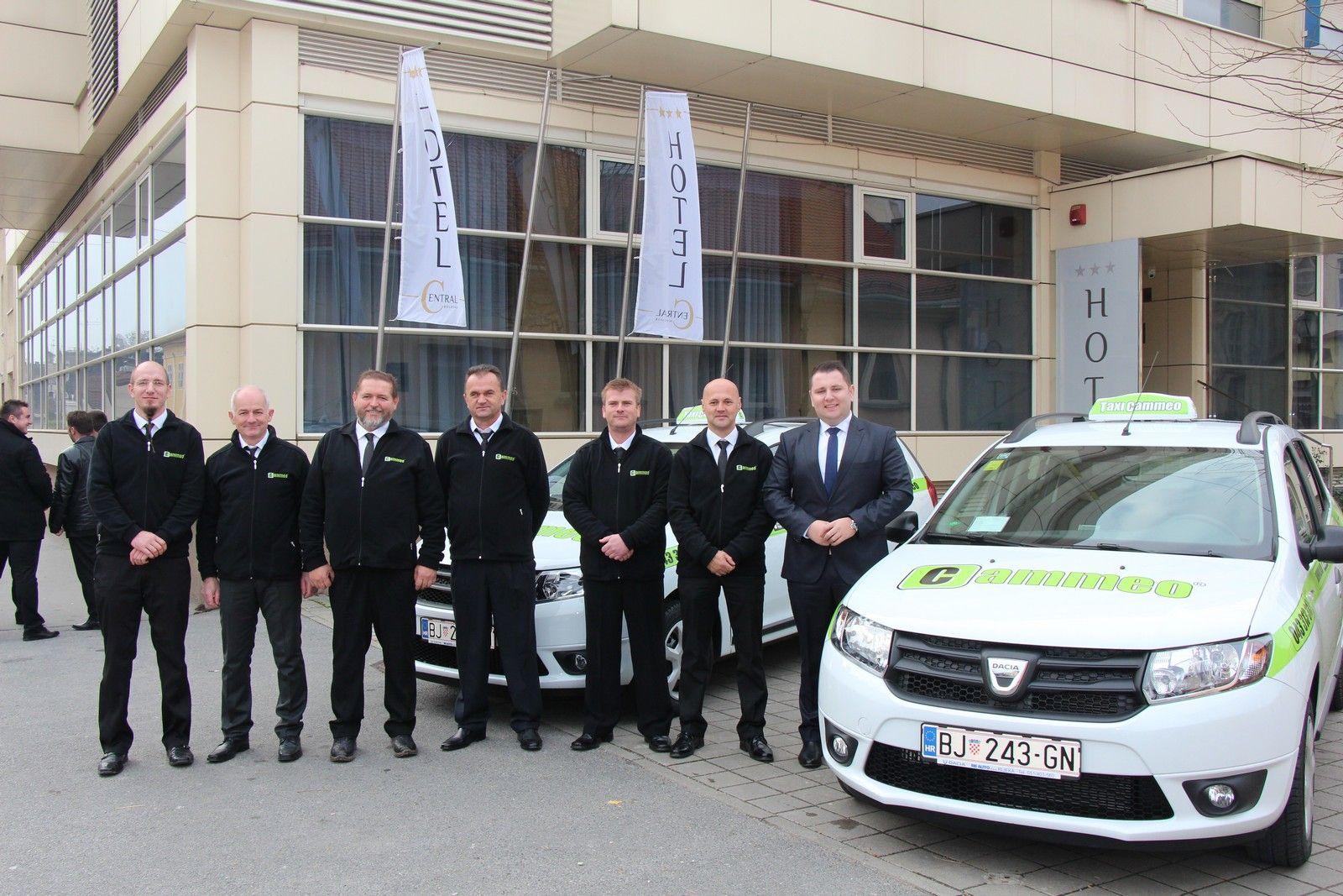Taxi Cammeo od danas i u Bjelovaru