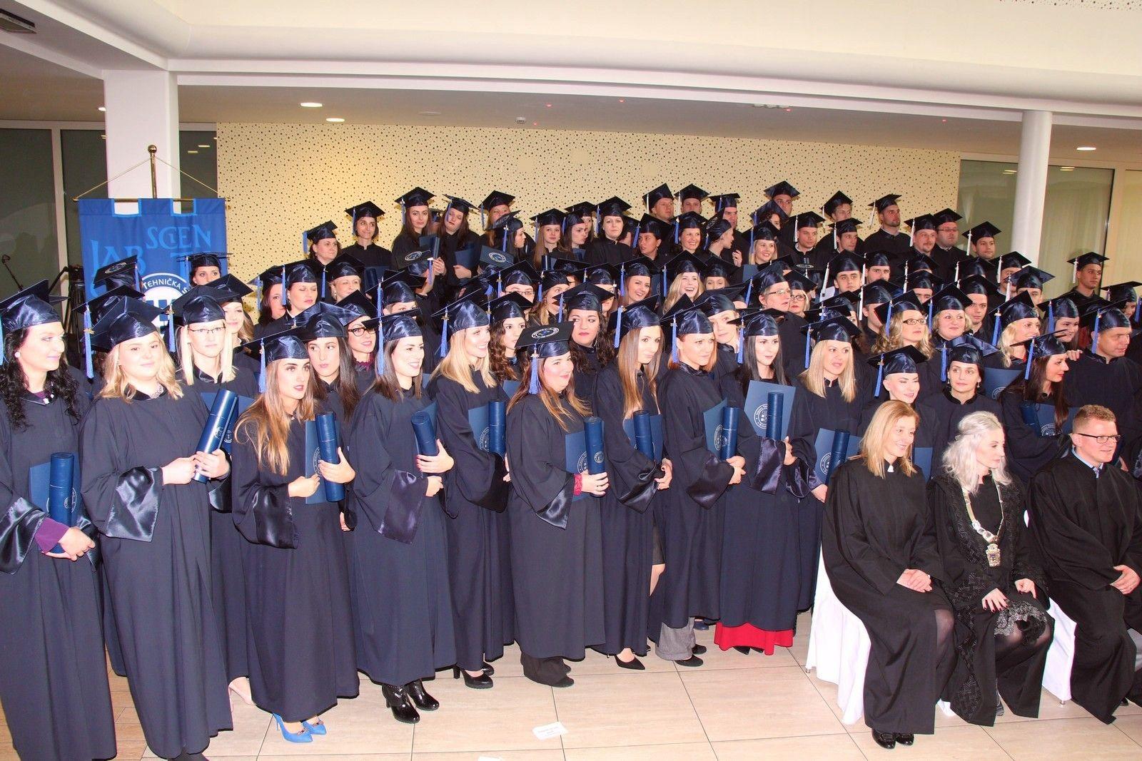 Diplome dobila 154 studenta prvostupnika mehatronike i sestrinstva