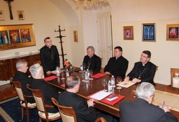 U Bjelovaru održana 33. sjednica biskupa Zagrebačke crkvene pokrajine