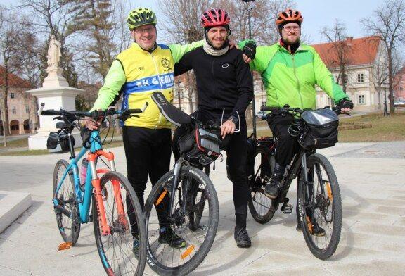 Biciklom od Londona do Istambula za 15 socijalno ugroženih obitelji