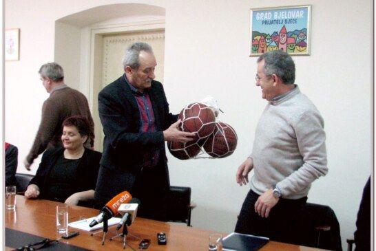 Prijem za košarkaše održan u maloj vijećnici Grada Bjelovara