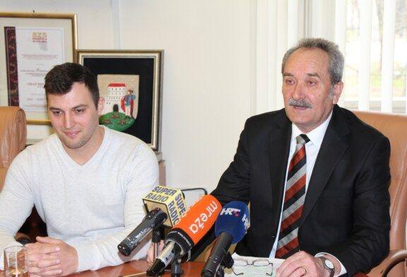 Prijem za Josipa Zimu – prvog hrvatskog sportaša u nordijskom skijanju za osobe s invaliditetom