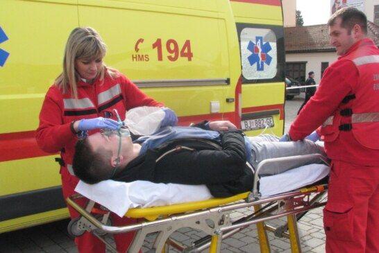 Provedena vježba zaštite i spašavanja u zgradi Grada Bjelovara
