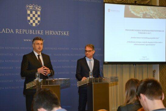 Predsjednik Vlade predstavio nove projekte za veću konkurentnost turizma