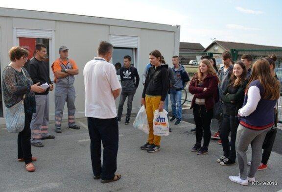 Prva škola koja je posjetila Reciklažno dvorište u Bjelovaru