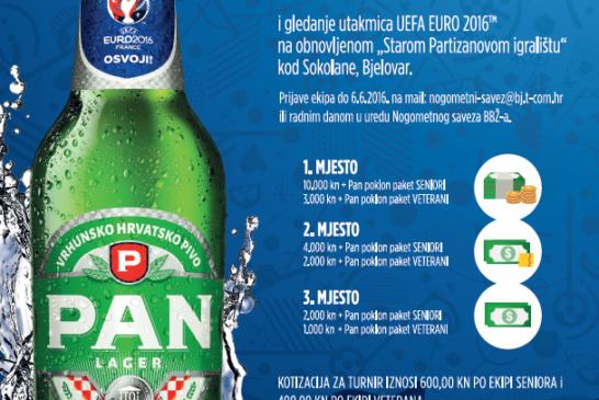 Bjelovar – Najavljen malonogometni turnir PAN 2016. od 10. lipnja do 2. srpnja