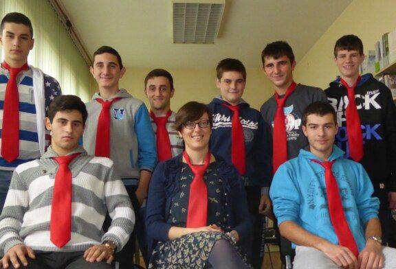 Dan kravate u Tehničkoj i obrtničkoj školi