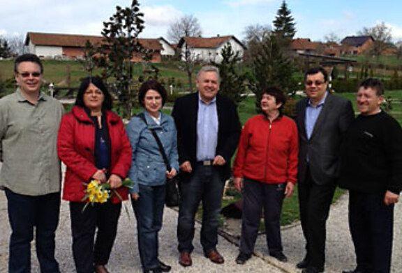 Damir Bajs razgovarao s Čazmancima, posjetio Gornji Miklouš i najljepše imanje obitelji Salaj