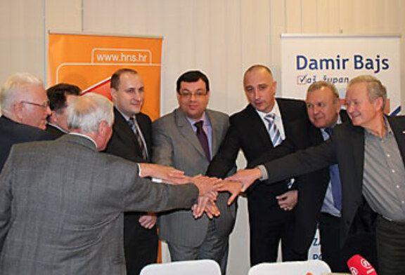 Ivan Vrdoljak, potpredsjednik HNS-a dao je podršku Damiru Bajsu, nezavisnom kandidatu za župana