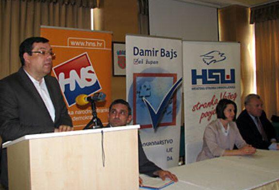 Damir Bajs, nezavisni kandidat za župana predstavio zamjenike