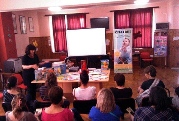 U Velikom Trojstvu održano predavanje za roditelje Čitanje djeci od najranije dobi