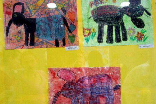 Otvorena izložba radova malih vrtićanaca Dječjeg vrtića Bjelovar