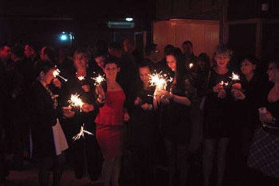 Božićno-novogodišnji domjenak HSLS-a u caffe baru Klub u Bjelovaru