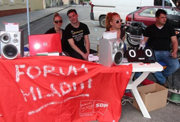 Forum mladih SDP-a Bjelovar proslavio  Praznik rada u sportskom duhu