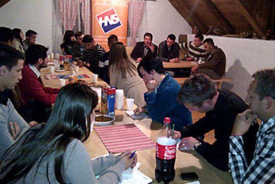 Mladi HNS-a Bjelovarsko-bilogorske županije izabrali novo vodstvo