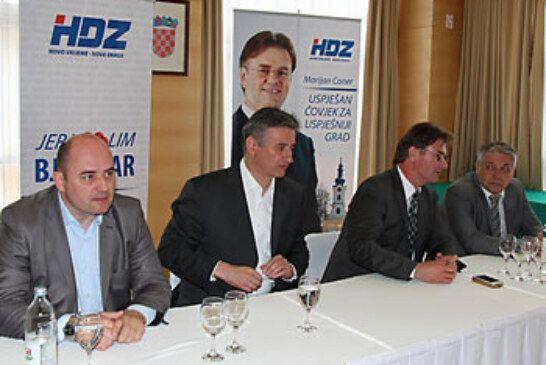 Po drugi puta u izbornoj kampanji Tomislav Karamarko u Bjelovaru