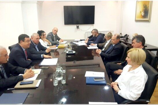 Župan Damir Bajs na sastanku s ministrom zdravstva Milanom Kujundžić