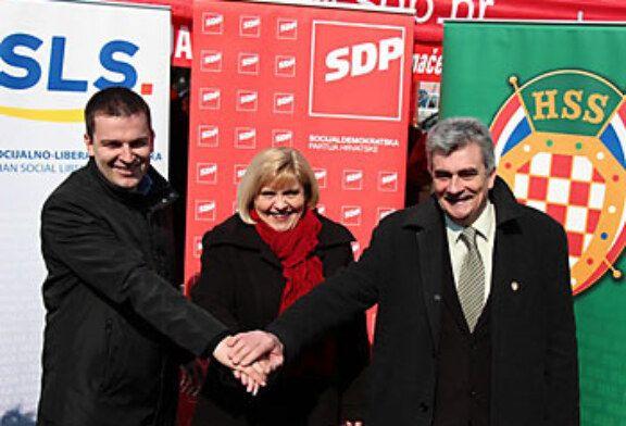 Nova koalicija za predstojeće lokalne izbore u gradu Bjelovaru: SDP+HSLS+HSS