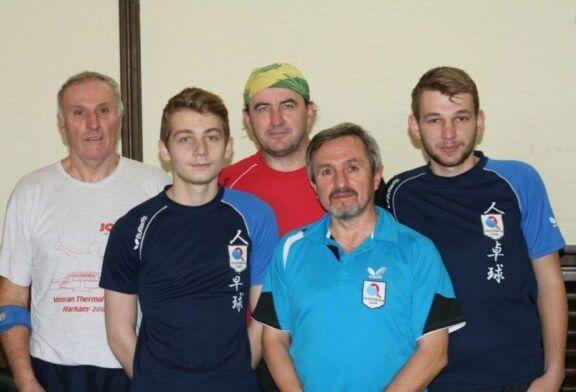 Stolnoteniski klub Čazma – jesenski prvak 3.HL – zapad