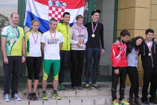 Štafeta OK Bjelovar srebrena na prvenstvu Hrvatske