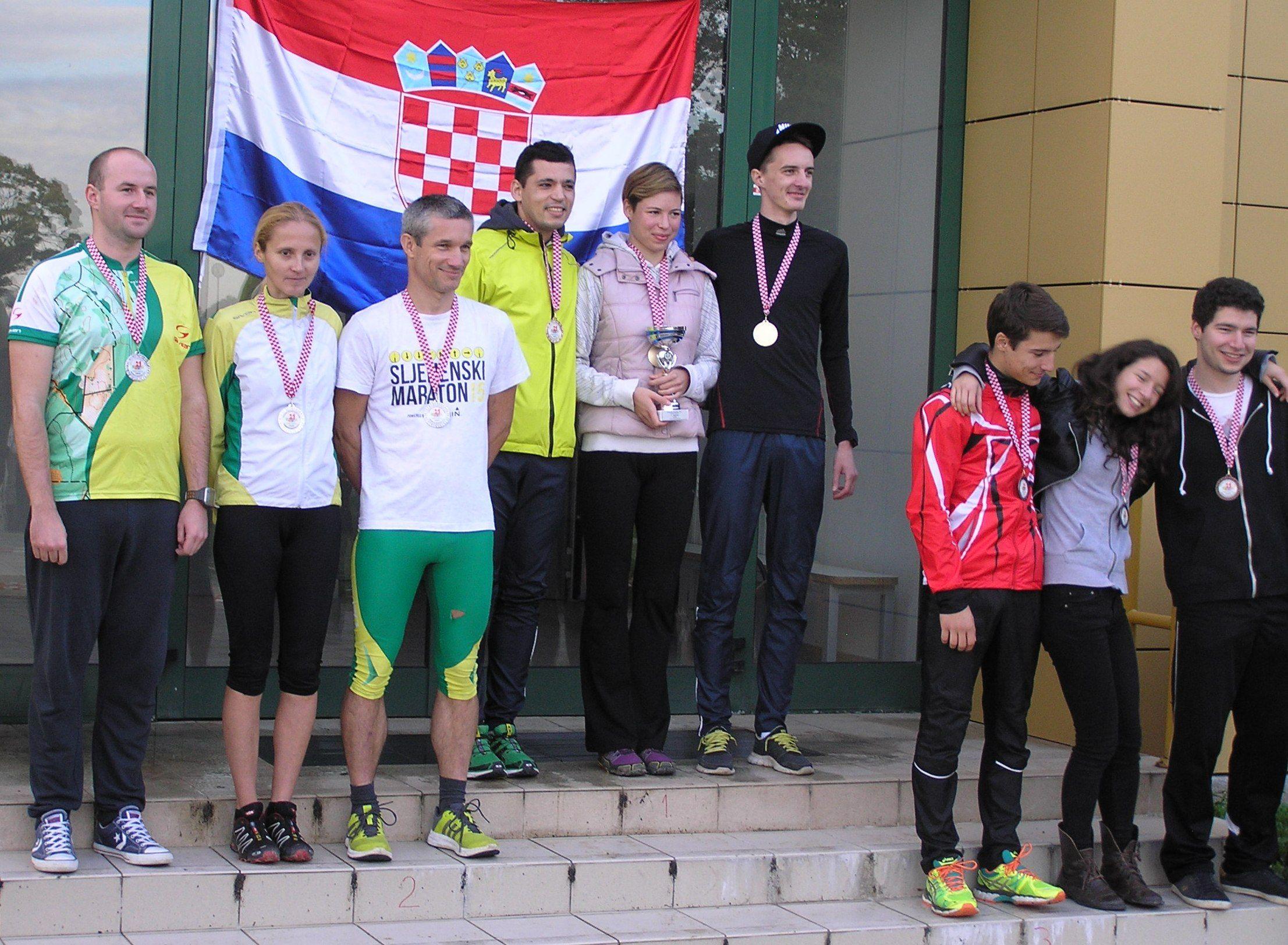 tafeta OK Bjelovar na pobjedni kom postolju