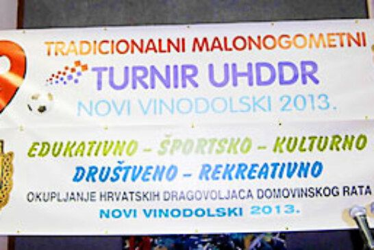 XIV. tradicionalni malonogometni turnir UHDDR-a Novi Vinodolski 2013