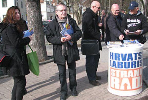 Europarlamentarac iz redova Laburista Nikola Vuljanić razgovarao s građanima Bjelovara i Daruvara