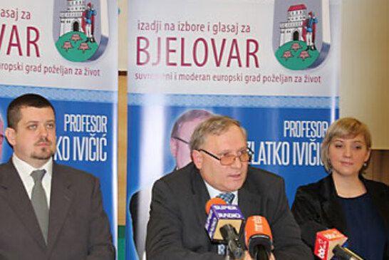 Profesor Zlatko Ivičić kandidat za gradonačelnika grada Bjelovara