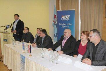 Ante Topalović, HDZ-ov kandidat za gradonačelnika grada Bjelovara predstavio program za zdravstvo