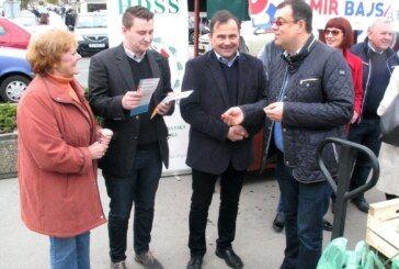 I ovu subotu Damir Bajs se družio s građanima grada Bjelovara