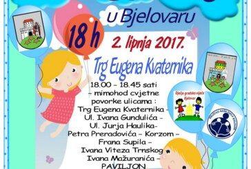 Društvo Naša djeca Bjelovar  organizira 8. CVJETNI KORZO uz potporu Grada Bjelovara