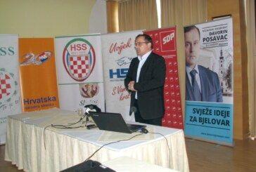 DAVORIN POSAVAC nezavisni kandidat za gradonačelnika Bjelovara predstavio svoj program za poljoprivredu