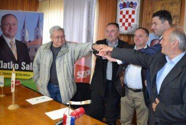 Predsjednik SDP-a Davor Bernardić dao potporu kandidatu za gradonačelnika  Čazme Zlatku Salaju
